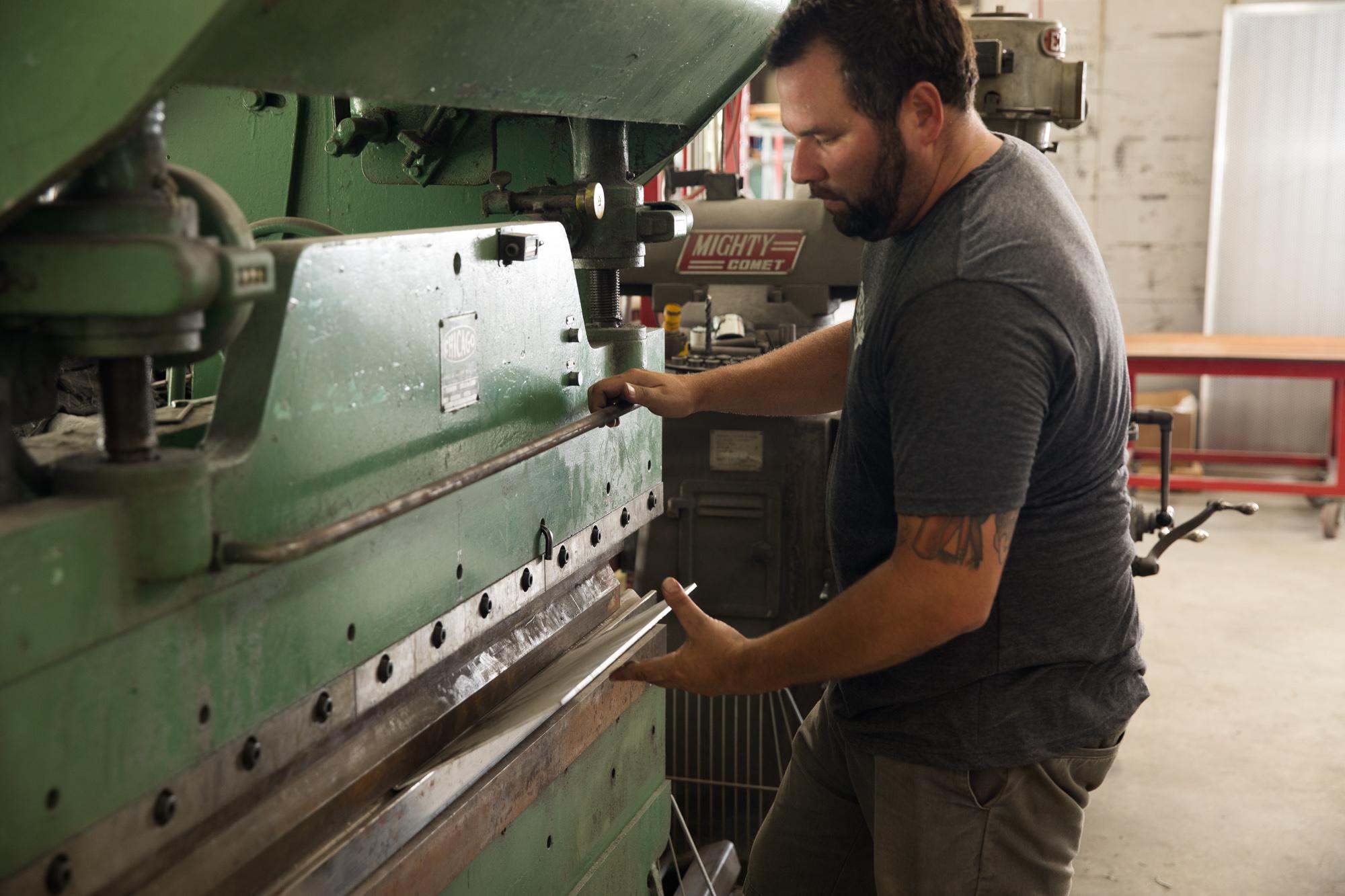 Metal Fabrication - Area 51 Powder Coating